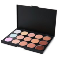 Wholesale 15 Colors Maquiagem Professional Salon Concealer Palette Makeup Party Contour Palette Face Cream Women Makeup Palette