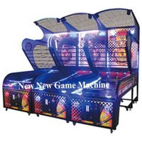 arcade basketball - 2016 New Indoor Amusement Park Equipment Coin Operated Electronic Shooting Basketball Arcade Game Machine