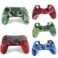 Silicone Case New Camouflage Cover Grip de peau pour gros Playstation 4 PS4 Controller
