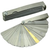 Wholesale New Feeler Gauge Tune Up Thickness Set Blade IMP METRIC With Brass