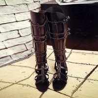 Wholesale Gladiator Sandals Women High Quality Summer Fashion Gladiator Shoes Woman Gladiator Boots Womens Sandalias Mujer