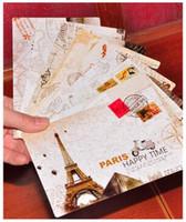 Compra Postal de la moda-tarjetas al por mayor de negocios se 9Pcs / set pares de la vendimia DIY de la muñeca Postal / caja de regalo / tarjeta de cumpleaños / tarjeta / regalo tarjeta de regalo / Fashion de felicitación