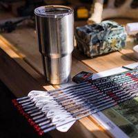 Wholesale 100 Original New YETI Tumbler Rambler Mug Cups Yeti Rambler Tumbler Stainless Steel oz Mugs Large Capacity Stainless Steel Cup