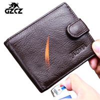 best wallet brand for men - HOT Genuine Leather Men Wallet Luxury Brand Design Wallet for Men Best Cool Bifold Small Slim Money Clip Front Pocket Male Purse