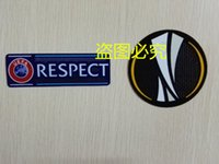 Wholesale Europa patch Europa League soccer patch and RESPECT PATCH