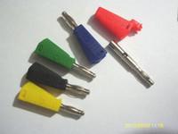 banana plug solder - 100 Color Banana PLUG FOR Test Probes MM BINDING POST Jack Soldering