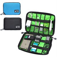 Wholesale Data Cable Practical Earphone Wire Storage Bag Power Line Organizer electric bag Flash Disk Case Digital Accessories Bags