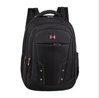 Wholesale Nylon Shoulders Bag Business style Laptop Backpack Leisure quot quot Computer Organizer Bag Lightness Delicate Backpack