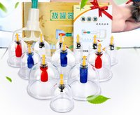Wholesale 2016 HOT SELL Vacuum Cupping Household Suction Type Gun Cupping Dial More Tanks Chinese Medicine Medical Therapy hccd
