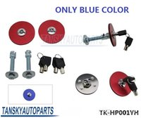 Wholesale TANSKY Universal Mount Bonnet Hood Lock Pins Kit W Keys For Del Sol Civic Aaaord Blue K only blue color TK HP001YH