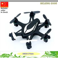 Wholesale HJ W609 RC Drones Helicopter Axis Gyro CH GHz Radio Control w D Flip RTF TRC Hexacopter DHL free