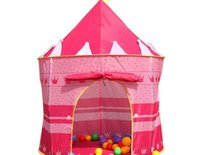 Wholesale New Toy Pink Kids Castle Palace Tent Princess Play House Children s Cubby Fun Hut