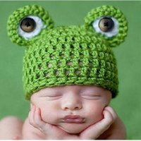 beanie babies frogs - Lovely Frog Newborn Toddler Boy Girl Baby Beanie Hat Photo Photography Props Knit Crochet Handmade Caps