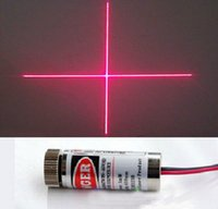Wholesale 650nm mW Red Cross Line Laser Module x35mm Industrial Locate Laser