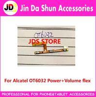 alfa parts - For Alcatel IDOL ALFA OT6032 Switch on off Ribbon Power Button Flex Cable Volume Side Key Control Parts