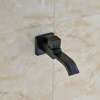 Wholesale Oil Rubbed Bronze Solid Brass Waterfall Bathroom Poll Faucet Shower Spout Tap