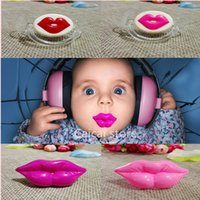 Wholesale Lip Funny Nipple Dummy Baby Soother Joke Prank Toddler Pacy Orthodontic Nipples Baby Pacifier Care