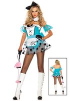 bad alice - Hot Sale alice in wonderland dress Sexy party costumes with Sexy Bad Girl Alice Costume S66130