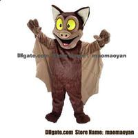 bat cartoon pictures - Brown Bat Mascot Costumes Cartoon Character Adult Sz Real Picture