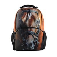 animal print scrubs - Backpacks Mens Backpacks Boys School Bag Rucksack Travel Bags Satchel Bookbag New Outdoor D Animal Scrub Personality Style Student Bag