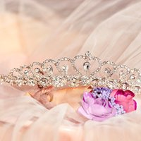 balls hair products - New product The bride tiara crown the queen of Korean large wedding jewelry wedding dress The baroque hair hoop wedding accessories