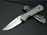 Wholesale Classica Sebenza wave pattern Folding Knives C Blade knife CHRIS REEVE New Tools