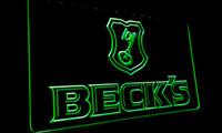 becks light beer - LS070 g Beck s Becks Beer Sign Bar Neon Light Sign jpg