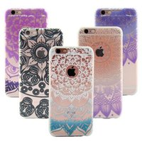 bell patterns - Color Mandala Flower Aeolian Bells Patterns Soft TPU Case for iPhone s Plus Back Shell