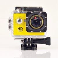 Wholesale 2015 Action Camera A9 Waterproof Underwater Diving MP Lens Sport Cam Mini p Full HD Cameras Vs SJ4000 SJ5000 Wholesales