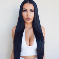 Wholesale 9A Brazilian Full Lace Wigs With Baby Hair Long Straight Human Hair Lace Front Wigs Full Lace Human Hair Wigs For Black Women