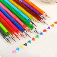 Wholesale 12Pcs Watercolor Pens Diamond Head mm Gel Pen Drawing Painting Pen Stationery Promotional Pens Pens For Writing Papelaria