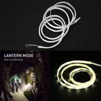 Wholesale Portable USB LED Light Rope Strip Lantern Waterproof For Outdoor Hiking Fishing