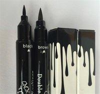 Wholesale Kylie liquid eyeliner Brown and Black in gel eyeliner High quality High Quality Hot