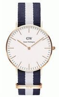 nylon straps - Wellington Watches Top Brand Luxury DW Watch For Men Women Nylon Strap Casual fashion Quartz Wristwatch Clock Reloj hombre mm mm