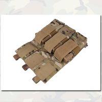 Wholesale Triple Magazine Pouch LBT Style M4 Combat Military Army Pouch Molle Multicam Paintball EM6352 Camouflage MC500D