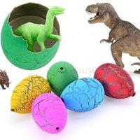 animal dvd - 60PCS Riverstones Water Magic Dino Egg Hatching Growing Dinosaur Cute Children Kids Toy For boys dvd flying frozen