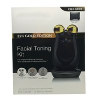 anti aging skin care kits - NuFACE Trinity Facial Trainer Kit K Gold Holiday Limited Edition Facial Toning Anti Aging Skin Care Treatment Device Facial Massager Devic