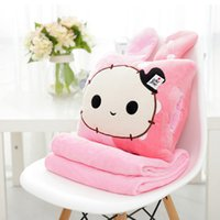 astro gifts - New Brand Cartoon Astro Boy Quilt coral fleece child bolster blanket Bedding cushion birthday gift no