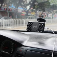auto cell phone holder - Qi Wireless Auto Charger Car Wireless Charger Wireless Charging Pad For Cell Phones Charger With Sucker Suction Cup Holder DHL