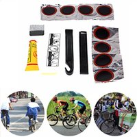 best puncture - Bicycle Tire Repair Tools Kits Cycling Tyre Puncture Repair Tire Flat Set Patch Rubber Portable Fetal Best Quality Easy To Carry