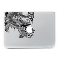 Wholesale Cool Dragon Laptop decal Sticker for MacBook Air Pro Retina inch Decal Mac Cover Vinyl Adesivo Pegatina Decor