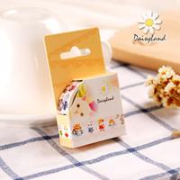 Wholesale daisyland and tape cartoon cat diary hand account Meng Meng decoration album paper hand