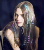 Wholesale Up LED Hair Braid Butterfly Halloween Toys Party Supplies Led Light LED Fiber Optic Christmas Gift A68
