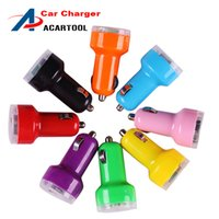 Wholesale 2016 New Arrival Mini Dual Port USB Car Power Charger Adapter For iPhone iPod Touch