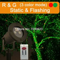 Wholesale Red green firefly laser outdoor christmas lights outdoor star laser shower christmas projector christmas lights outdoor laser