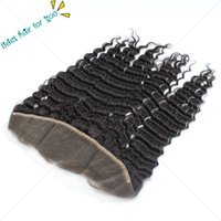 Wholesale Grade A Malaysian Lace Frontal Closures Body wave x4 Free Middle Part Full Lace Frontal Unprocessed Human Hair Natural Black