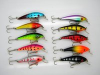 best plastic baits - Best Plastic minnow Shad Fishing Lures colors g cm Laser freshwater wobbler Artificial hard bait
