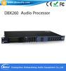 audio video processors - Professional audio video processor DBX with video audio and control hybrid matrix audio video conferencing system