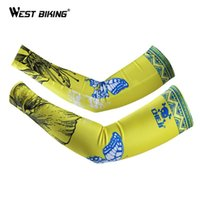 Wholesale Cycling Arm Warmers UV Protection Manguitos Ciclismo Brazo Bicycle Arm Sleeves Armwarmer Bike Bicycle Cycling Arm Warmers