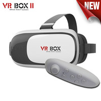 Wholesale ship from USA VR Box Gamepad Virtual Reality D Glasses Helmet VR BOX Headset For inch inch Smartphone